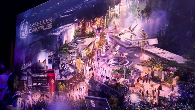 """Disney unveils Marvel land theme park """"Avengers Campus"""" at D23"""