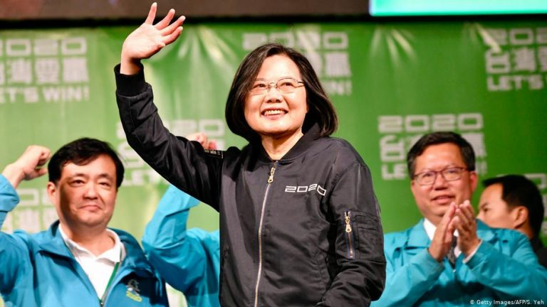 Taiwan celebrates re-election of President Tsai Ing-Wen for a second term