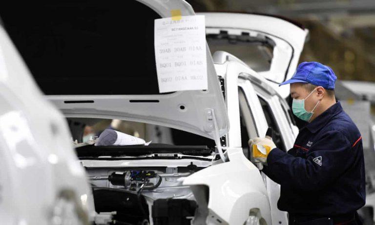 Car sales in China drop hard due to coronavirus and trade tensions