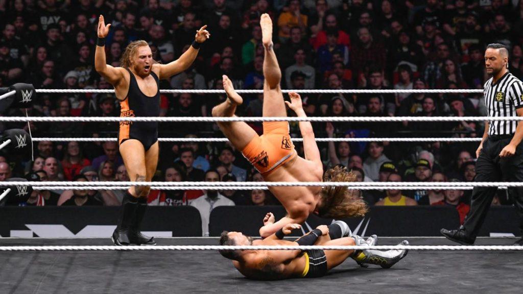 Undisputed Era v The Broserweights
