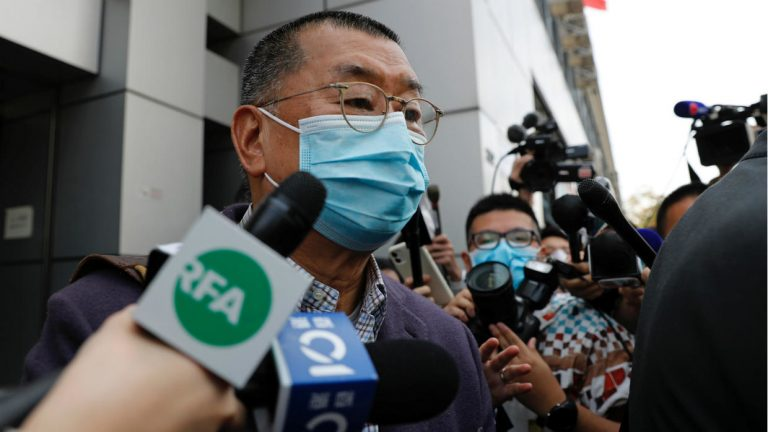 Hong Kong millionaire arrested for illegal assembly and intimidation