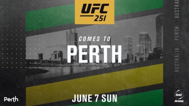 UFC returns to Australia as UFC 251 is scheduled to be held in Perth
