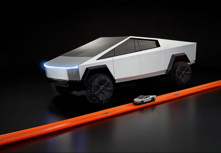 Hot Wheels is bringing RC Cybertruck to market in December