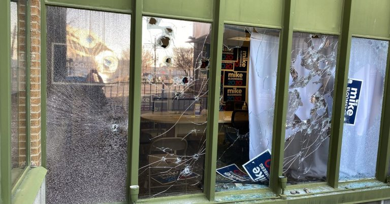 Bloomberg's Utah and Tennessee offices vandalized