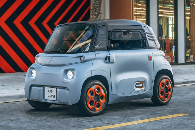 Citroen Ami: The smallest two-seater EV from Citreon, a French company