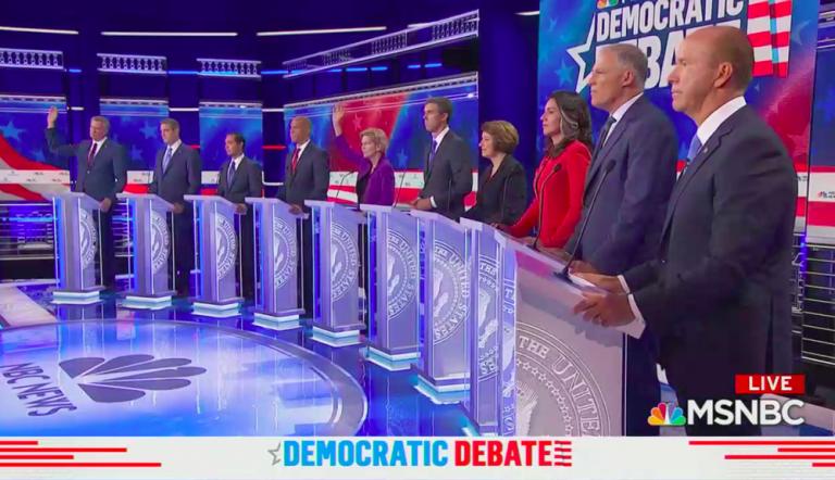 10th Democratic Debate: A lot of chaos and disorganization