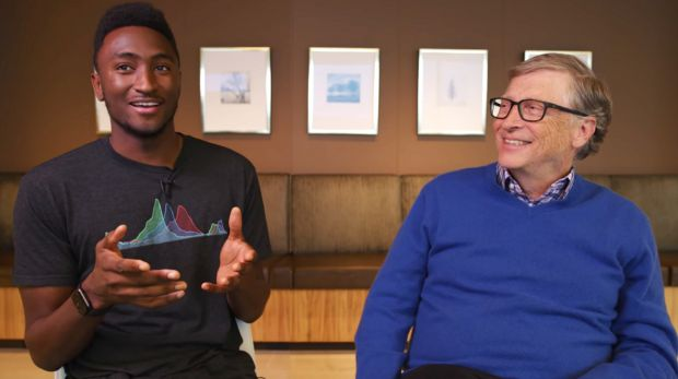 Bill Gates shared his Porsche Taycan experience