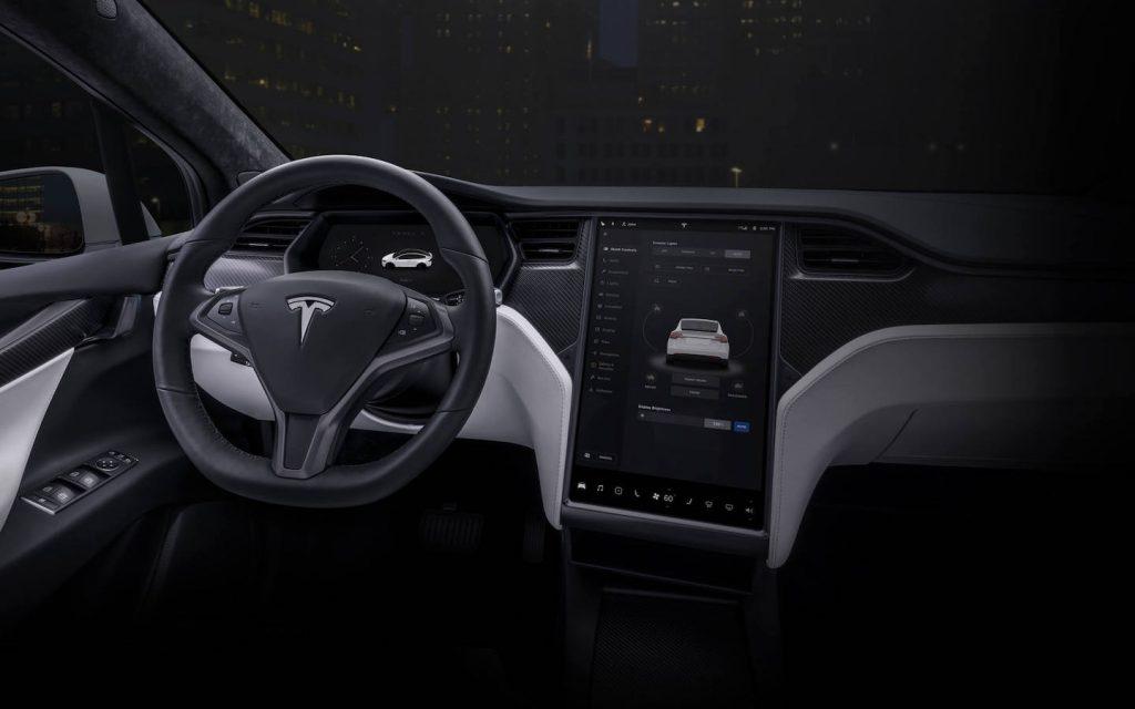 Model X Steering Wheel