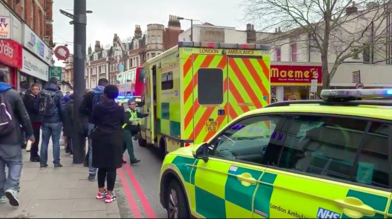 ISIS terrorist shot down by police after stabbing attack in South London