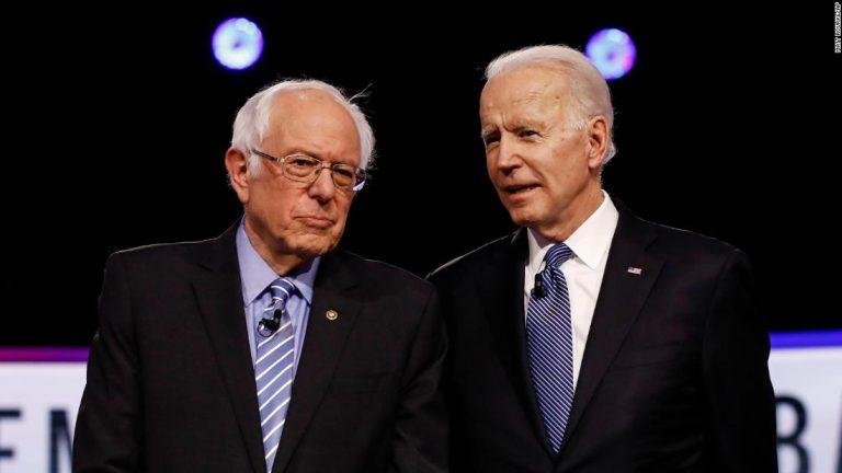 Bernie Sanders gives Joe Biden the keys to his castle