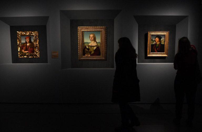 New Roman art exhibit marking 500 years of post-Raphael