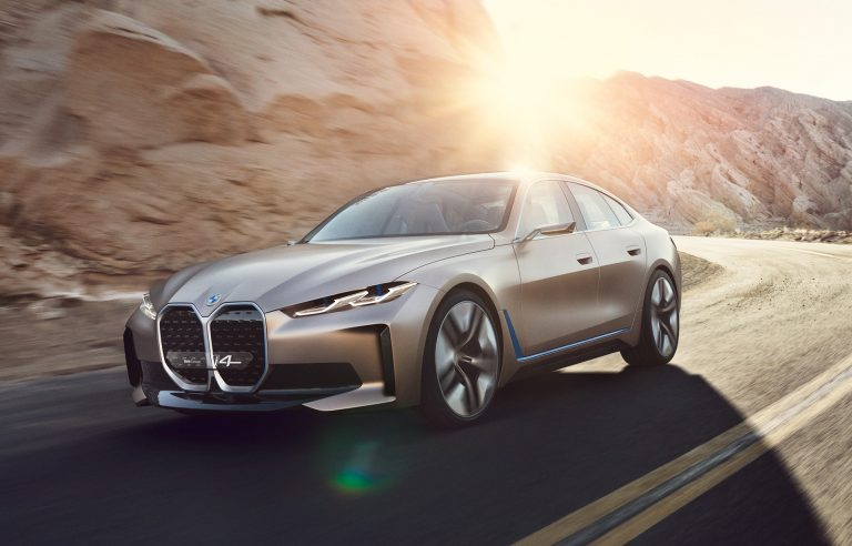 BMW reveals details about the Concept i4, a possible Tesla competitor