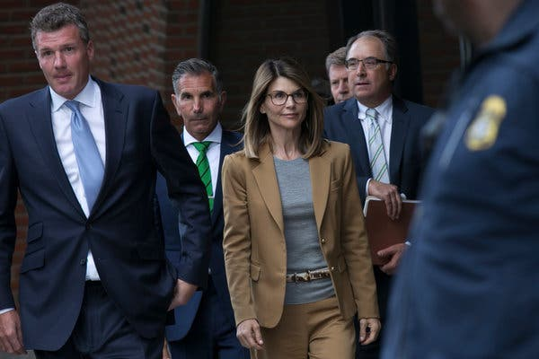 Lori Loughlin and Mossimo Giannulli's involvement in Operation Varsity Blues