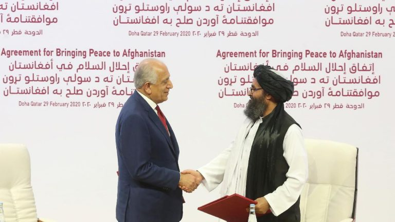 US and Taliban sign deal to withdraw American troops from Afghanistan