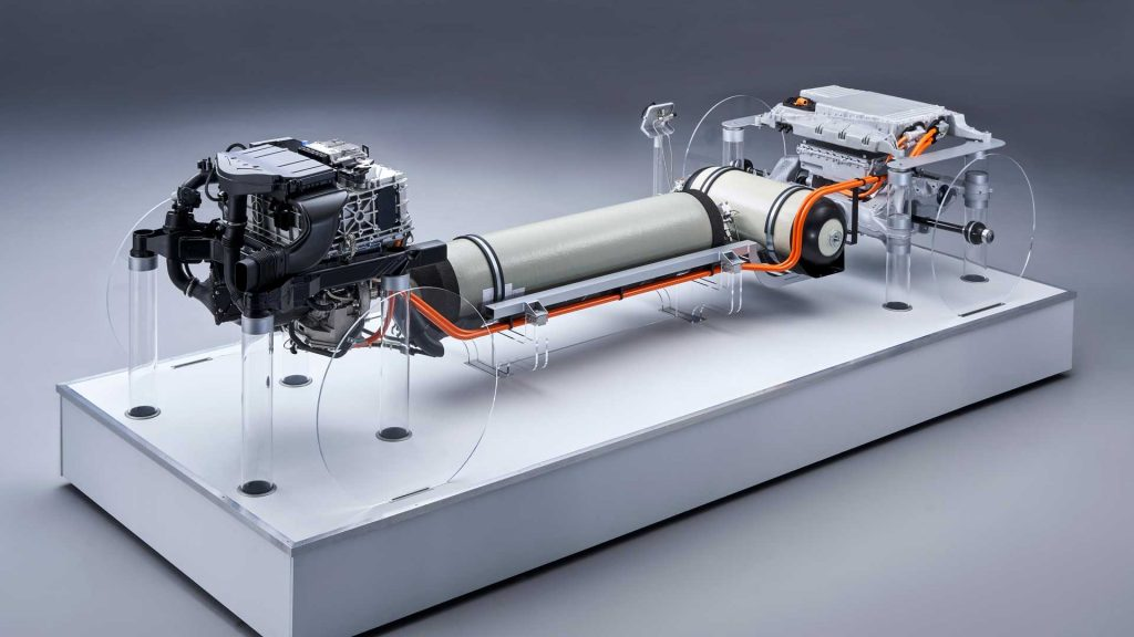fuel cells of BMW