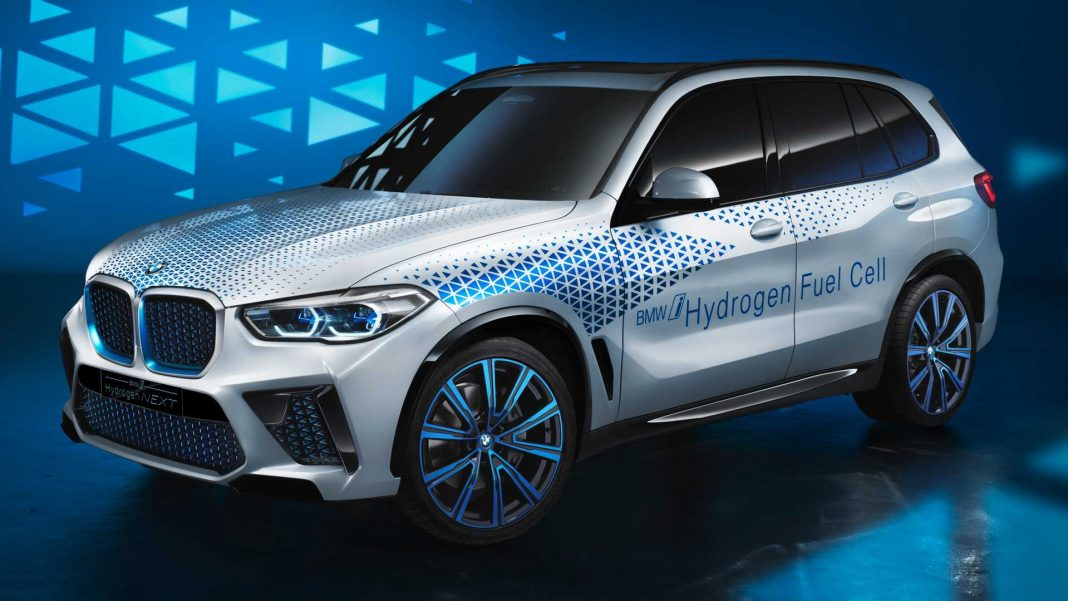 BMW X5- a hydrogen fuel cell vehicle