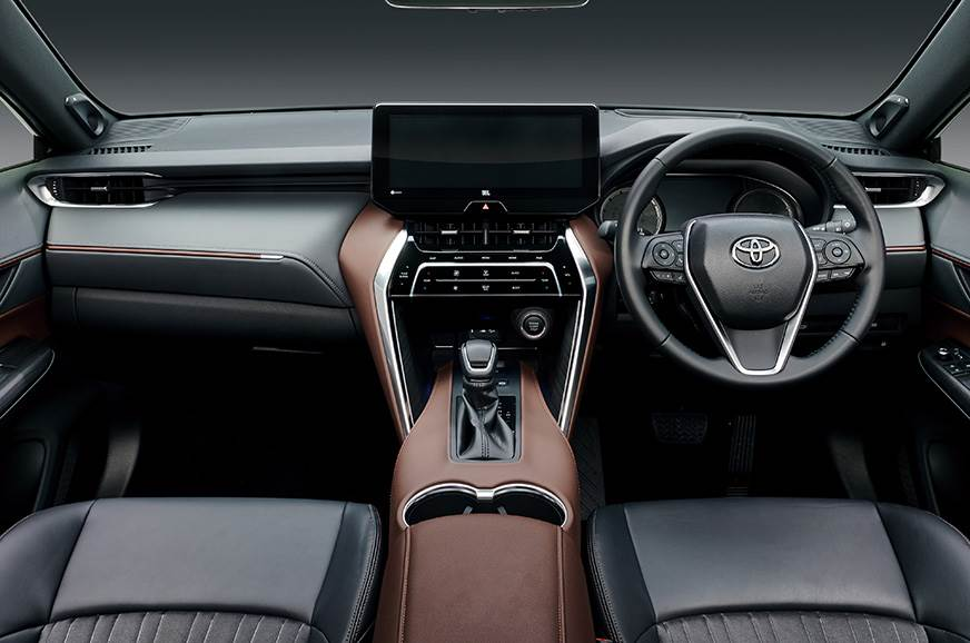 Interiors of Toyota Harrier 2020