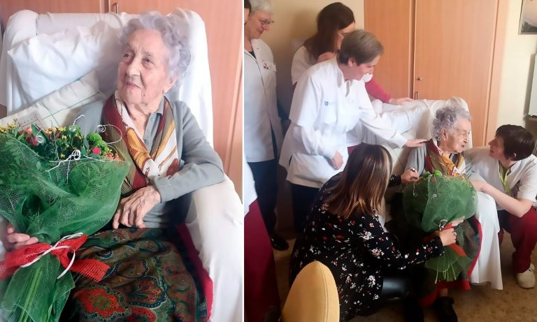 113-year-old woman beats COVID-19, is also the oldest women in Spain