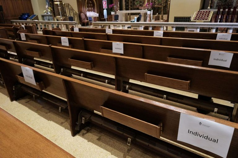 California announces places of worship can begin reopening