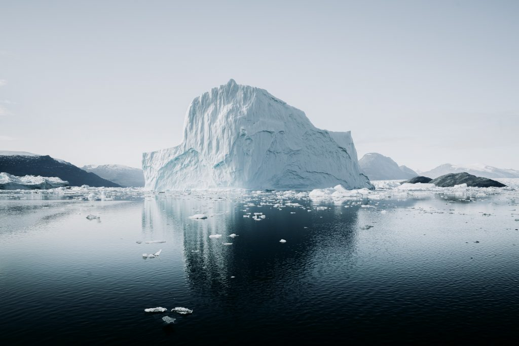 Antarctic iceberg | Image: Annie Spratt on Unsplash