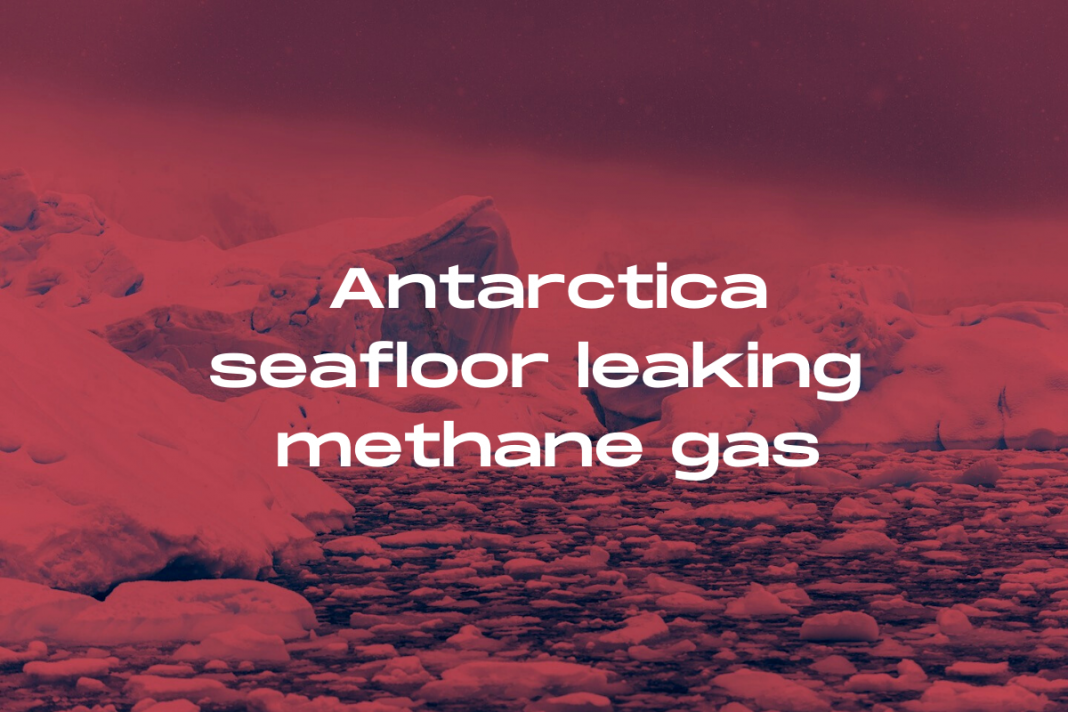 Antarctica methane gas